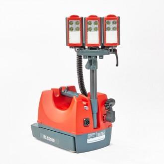 Przenośny akumulatorowy system oświetleniowy (LED) - RLS 2000