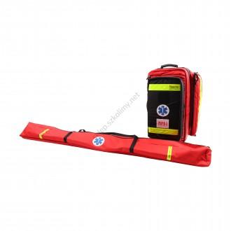 Zestaw ratowniczy PSP R1 w plecaku z szynami kramera