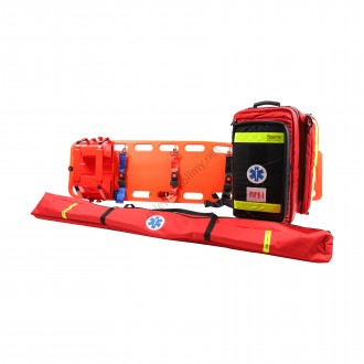 Zestaw ratowniczy PSP R1 w plecaku z szynami kramera i deską