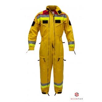 Kombinezon dla Grup Poszukiwawczo-Ratowniczych - żółty