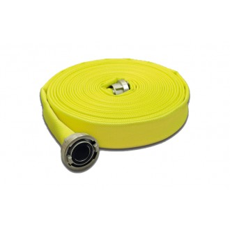 Wąż tłoczny W-42/20m ŁA OSW SIGNAL FLUO (żółty)