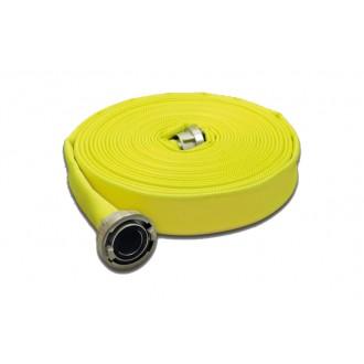 Wąż tłoczny W-75/20m ŁA PL OSW SIGNAL FLUO (żółty)