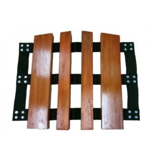 Mostek przejazdowy drewniany 52x75x52