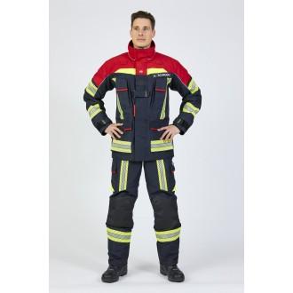 ROSENBAUER FIRE FLEX (GRANATOWO-CZERWONY) NOMEX NXT (CNBOP)