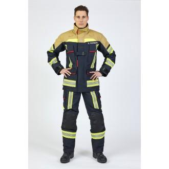 ROSENBAUER FIRE FLEX (GRANATOWO-ZŁOTY) NOMEX NXT (CNBOP)