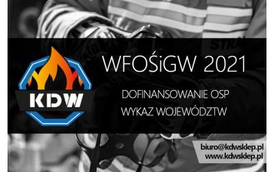Dofinasowanie jednostek OSP z WFOŚiGW - CAŁA POLSKA